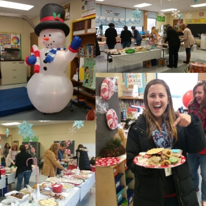 Paton staff and teachers enjoyed many cookies and treats at this year's Sweet Treat event